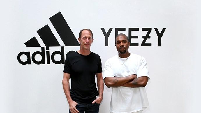 Kanye West Adidas.