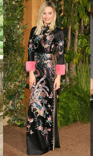 Best dressed celebrities Olivia Palermo Margot Robbie Sophie Kennedy Clark