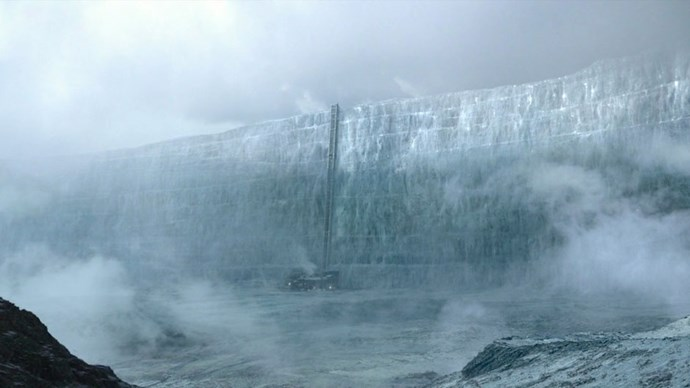 <strong>IF YOU LIKED: THE WALL</strong> <br><br> The 700-foot-tall structure of solid ice keeps Wildlings and White Walkers from entering the Seven Kingdoms. The Night's Watch is stationed here at Castle Black.