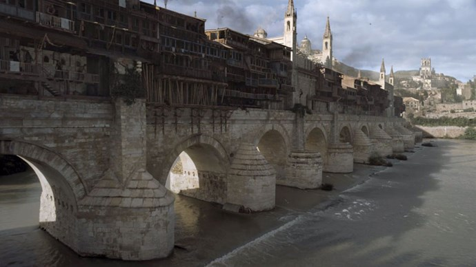 <strong>IF YOU LIKED: VOLANTIS</strong> <br><br> The Long Bridge of Volantis is a massive structure that joins the city's two halves. Tyrion, Varys and Ser Jorah stopped here on their way to Pentos in Season 5.