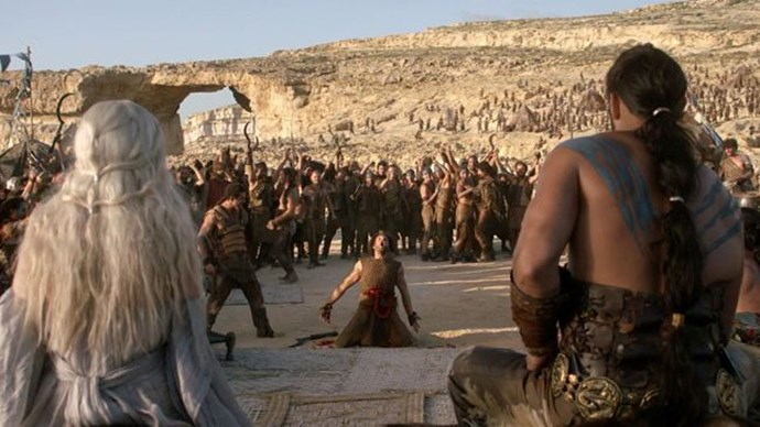 <strong>IF YOU LIKED: DAENERYS & KHAL DROGO'S WEDDING VENUE</strong> <br><br> The Dothraki celebrated the khal and khaleesi's nuptials at a rocky location by the sea.