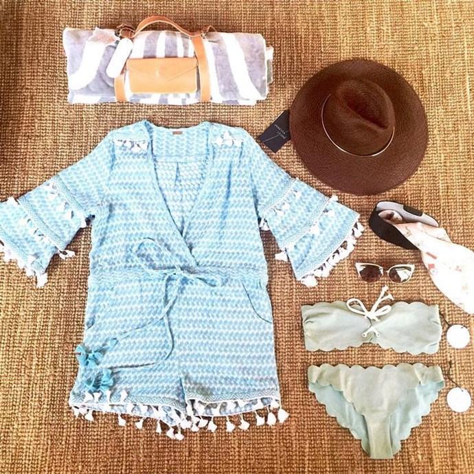 Rosie Huntington-Whiteley's long weekend essentials