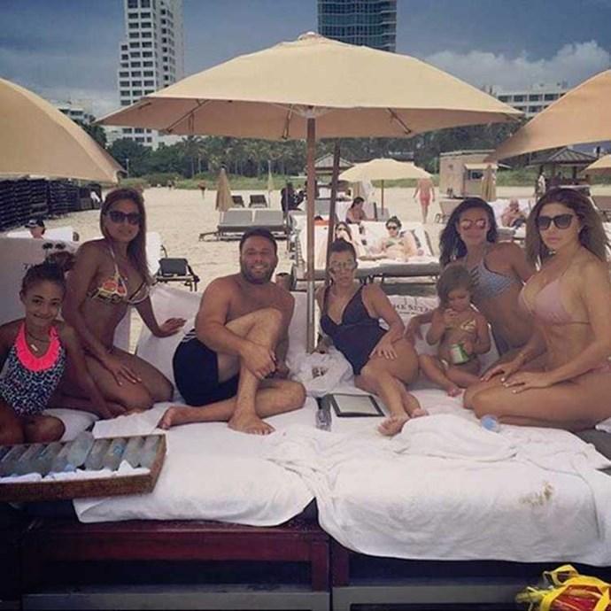 """<strong>Kourtney Kardashian</strong> """"Beach dayz"""" Instagram: <a href=""""https://www.instagram.com/p/BHYBhqfAAPj/"""">@kourtneykardash</a>"""