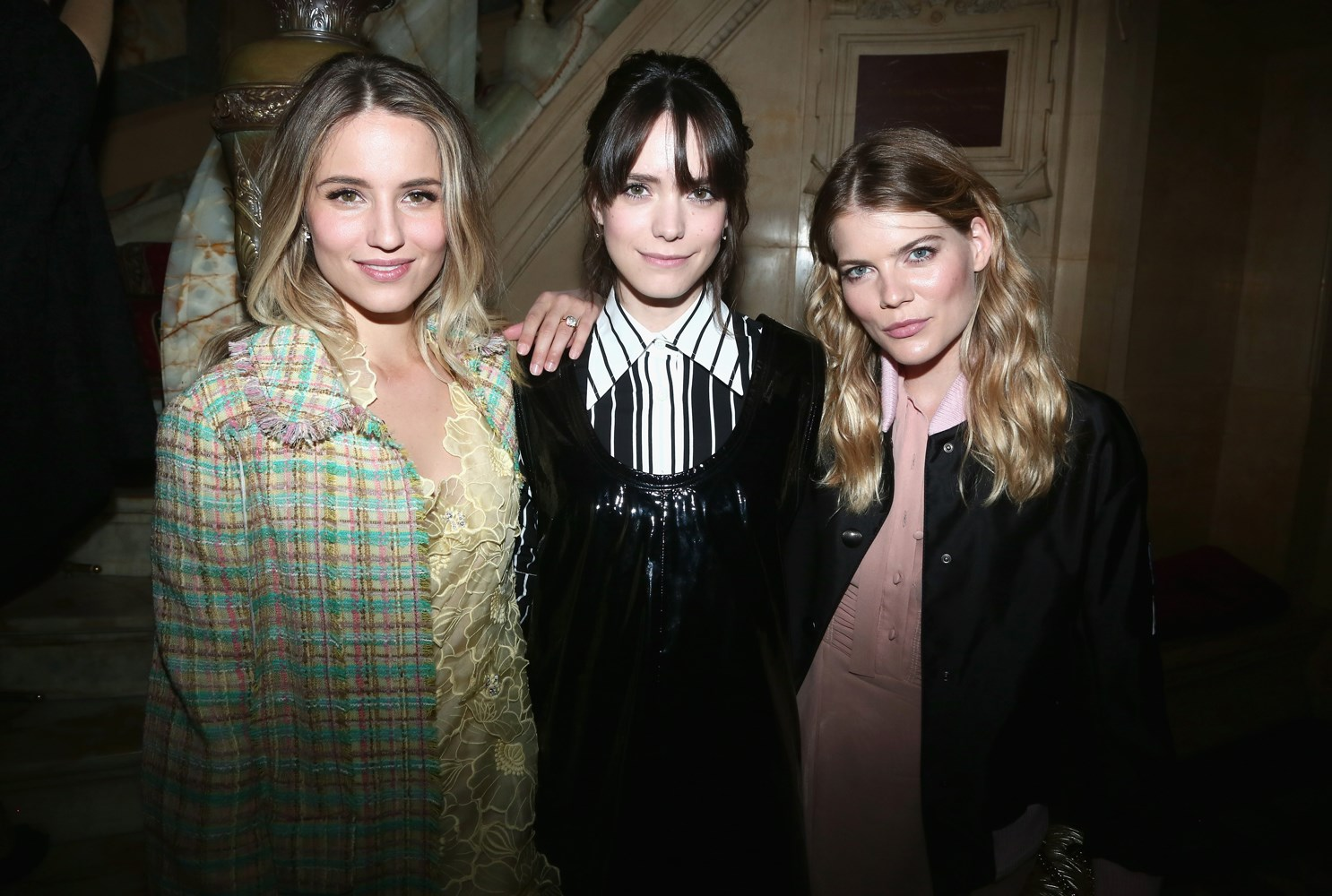 Dianna Agron, Stacy Martin and Emma Greenwell