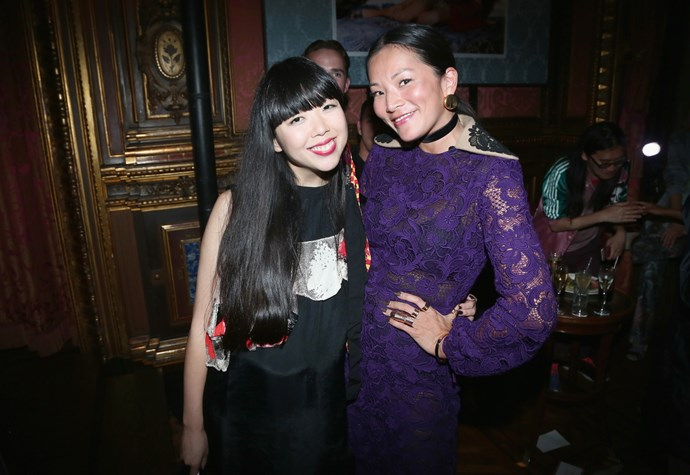 Susanna Lau (Susie Bubble) and Tina Leung