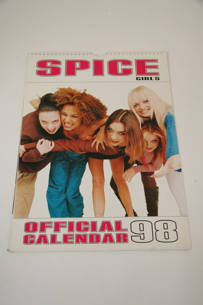 An official calendar for remembering official occasions like Baby Spice's birthday (January 21)