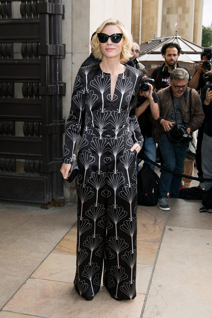 Cate Blanchett at Armani Privé
