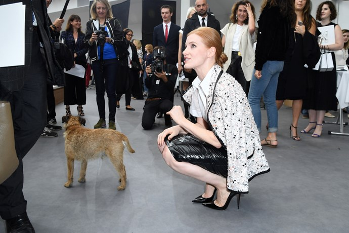 Jessica Chastain at Chanel