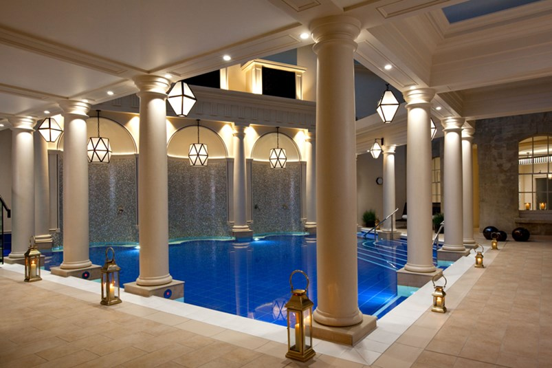 spa water mineral pool relax calm luxury