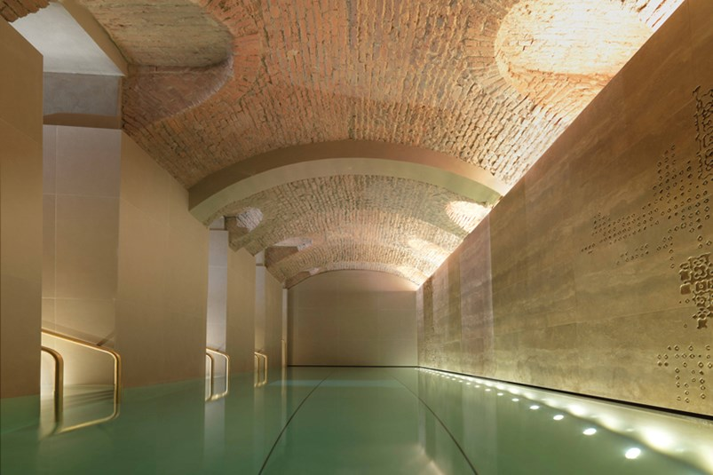 spa water pool milan marble