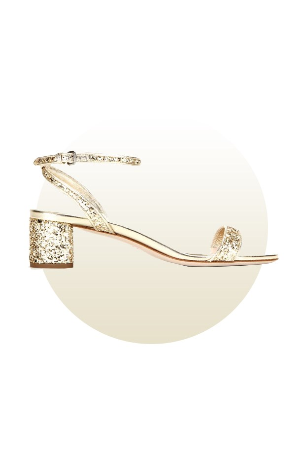 "Shoes, $444, <a href=""http://www.mytheresa.com/en-de/glitter-sandals-553766.html?catref=category"">Miu Miu at mytheresa.com</a>."