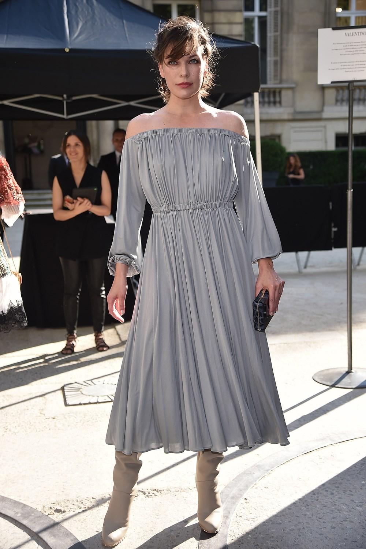 Milla Jovovich at Valentino