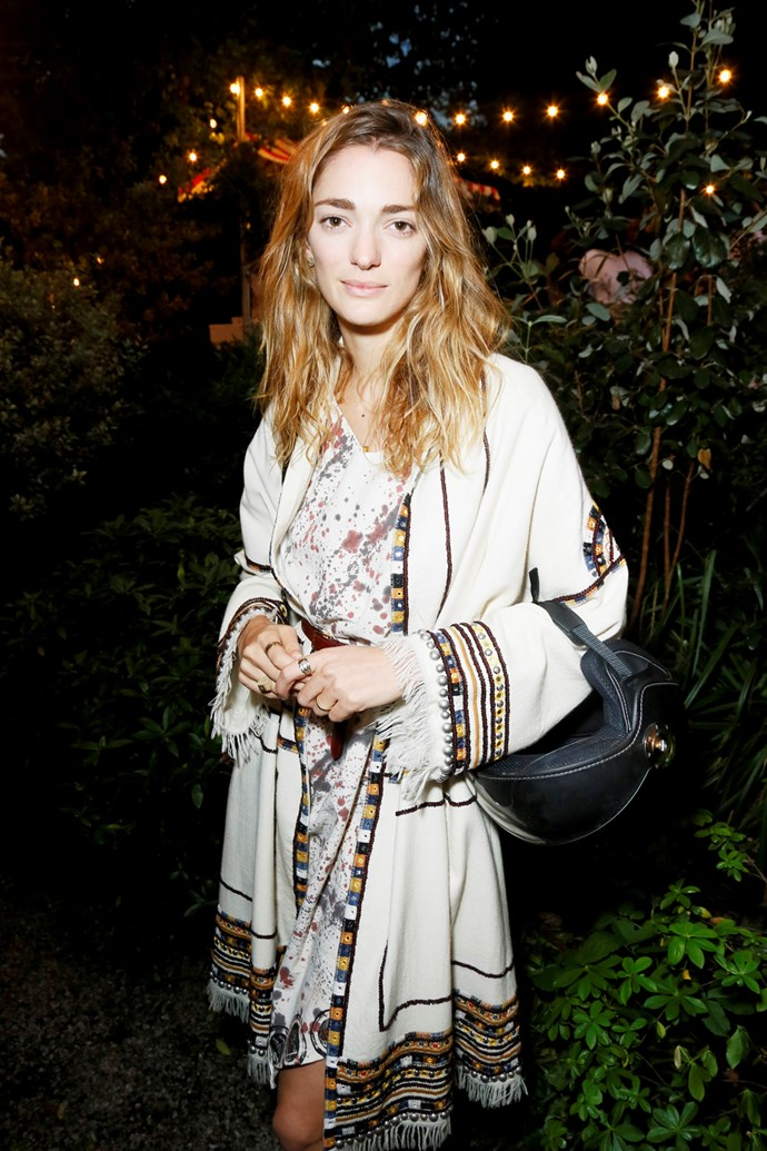 Sofia Sanchez de Betak at Isabel Marant and mytheresa.com's Paris Fashion Week party