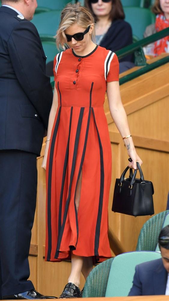Sienna Miller at Wimbledon