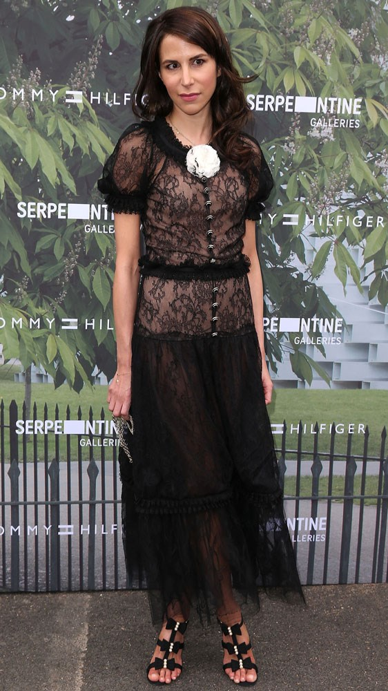 Caroline Sieber at the Serpentine Summer Party, hosted by Tommy Hilfiger