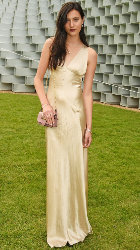 Matilda Lowther in Burberry
