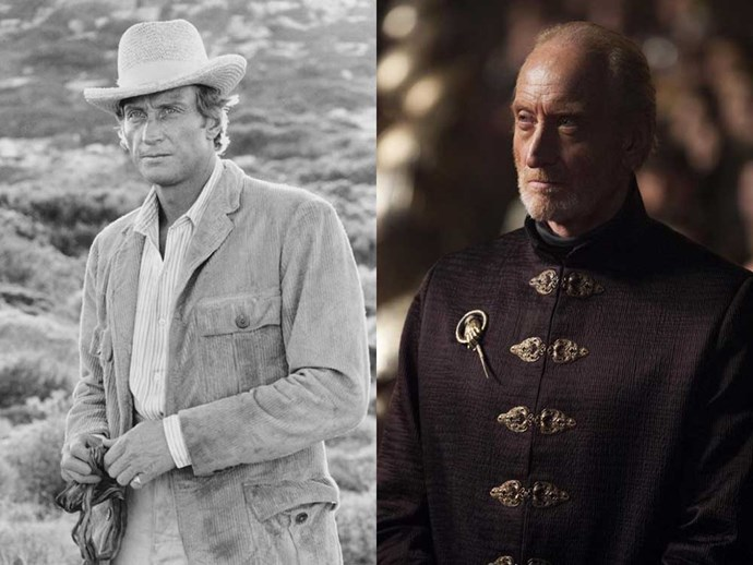 </p><p><b>Charles Dance</b> as Anthony Bowles in <em>Pascali's Island</em> (1988), and as Tywin Lannister in <em>Game of Thrones</em>.