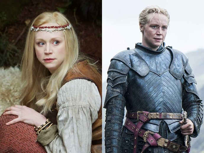 </p><p><b>Gwendoline Christie</b> as Lexi in <em>Wizards vs. Aliens</em> (2012-2013), and as Brienne of Tarth in <em>Game of Thrones</em>.