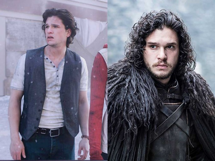 </p><p><b>Kit Harington</b> as Vincent in <em>Silent Hill: Revelation 3D</em> (2012), and as Jon Snow in <em>Game of Thrones</em>.