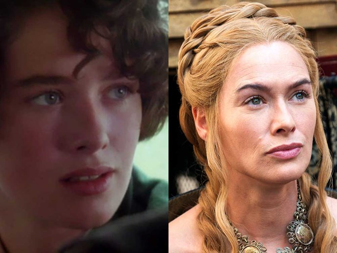 </p><p><b>Lena Headey</b> as Mary in <em>Waterland</em> (1992), and as Cercei Lannister in <em>Game of Thrones</em>.