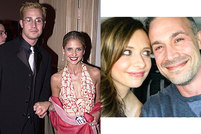 <strong>Sarah Michelle Gellar and Freddie Prinze, Jr.</strong><br> Everyone's favourite '90s sweethearts met on the set of I Know What You Did Last Summer in 1997, before marrying in 2002. They have two children together—Charlotte Grace and Rocky James.