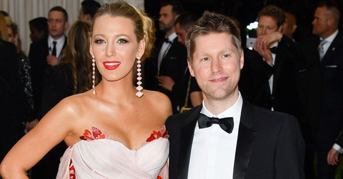 Blake Lively and Christopher Bailey