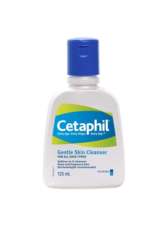 """I've got super sensitive skin and didn't realise just how much products were affecting it until I switched back to this oldie but a (cheap) goodie."" – Brooke Bickmore, workflow director<br><br> <a href=""https://www.priceline.com.au/cetaphil-gentle-skin-cleanser-125-ml"">Gentle Skin Cleanser, $9.29 for 125ml, Cetaphil</a>"