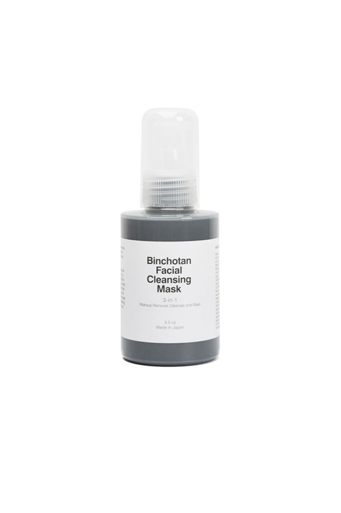 """According to science I don't completely understand, the concentrated charcoal in this mask binds to foreign particles (i.e. last night's make-up) and because charcoal can't be absorbed by the body, draws them out of the skin. I use it to get the most (quite literally) out of my extractions."" – Elle McClure, digital producer <a href=""https://www.mychameleon.com.au/charcoal-cleansing-mask-p-3571.html?typemf=women"">Binchotan Facial Cleansing Mask, $69 for 100ml, Morihata</a>"