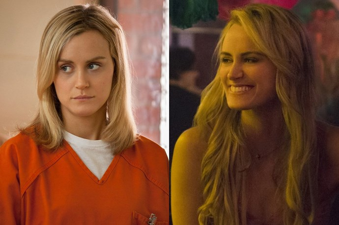 <p> <strong>Name:</strong>Piper Chapman, 32.<p> <p> <strong>Offense:</strong> Money Laundering and Perjury.<p> <p> <strong>Sentence: 15 to 20 months.</strong><p>
