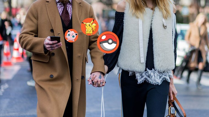 Pokemon Go game screengrab