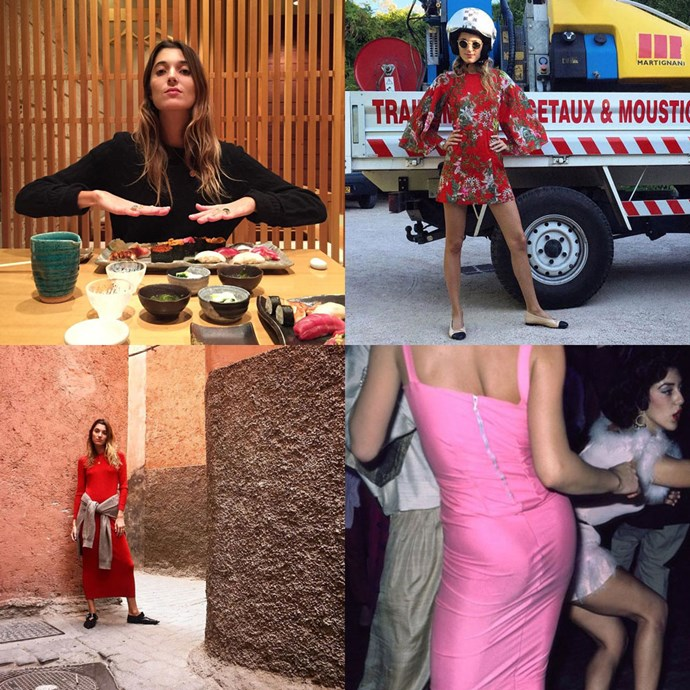 """<strong>Lolita Jacobs (<a href=""""https://www.instagram.com/loljacobs/"""">@loljacobs</a>)</strong><br>The style director of French fashion label Courrèges, Jacobs' Instagram is littered with art and pop culture references, for those who like their feed to have a little more substance."""
