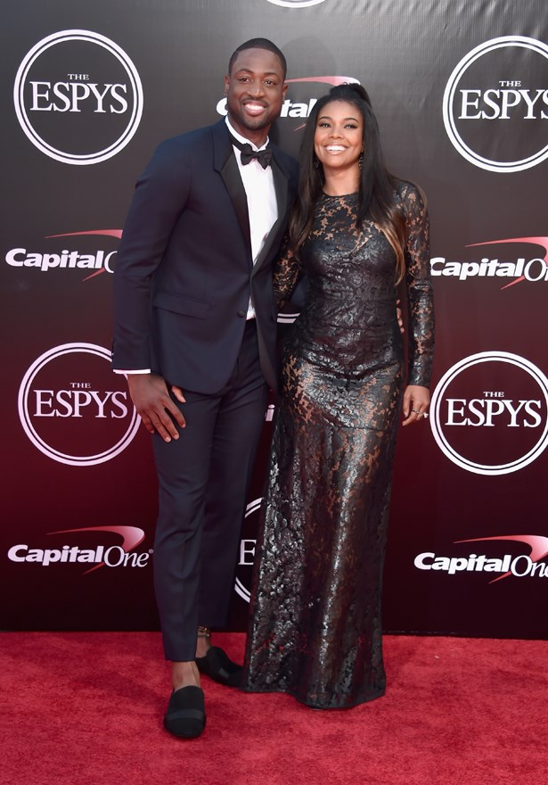 Dwayne Wade and Gabrielle Union.