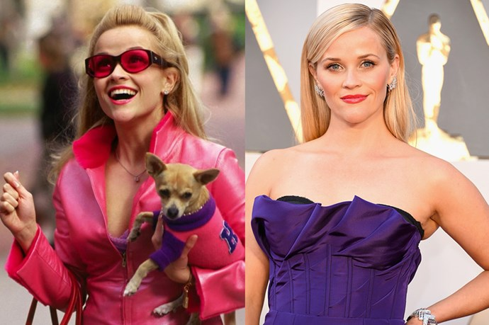 Reese Witherspoon as Elle Woods.