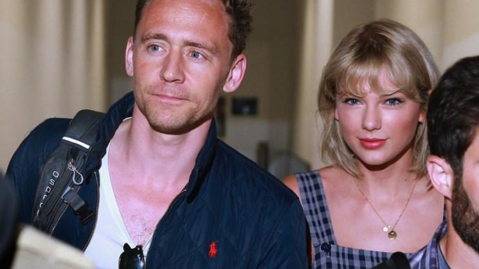 Tom Hiddleston and Taylor Swift in Australia.