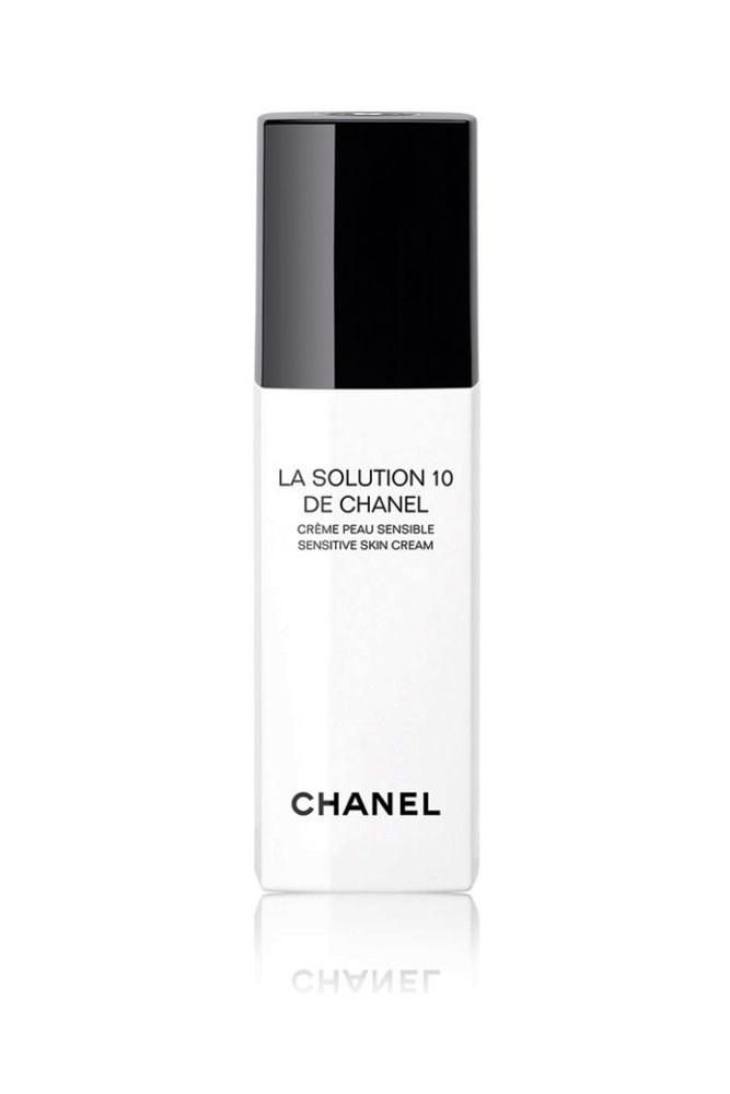 "The Facial Moisturiser<br> <a href=""http://shop.davidjones.com.au/djs/en/davidjones/solution-10-sensitive-face-cream"">La Solution 10 De Chanel, $132, Chanel</a>"