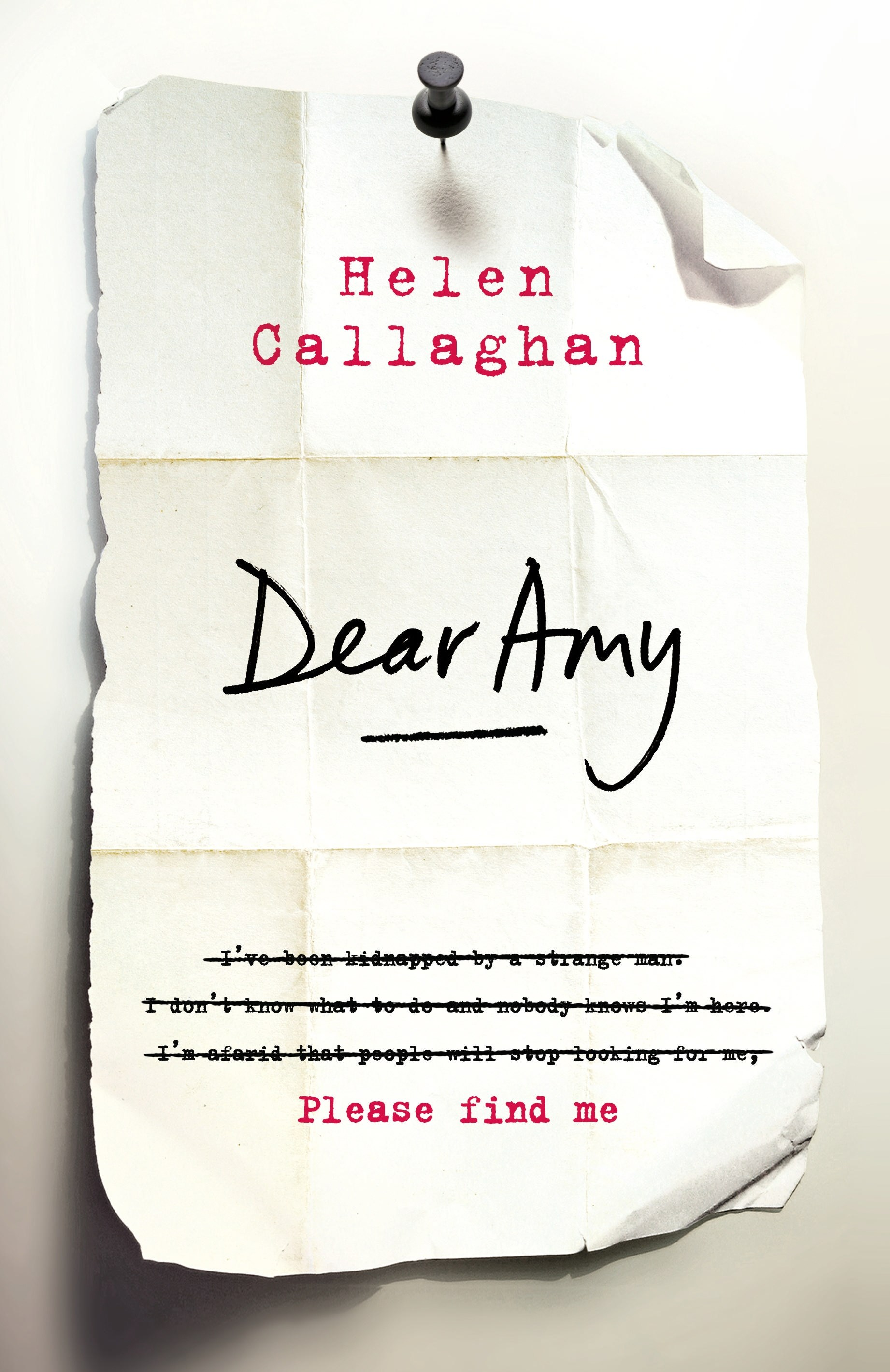 "<strong><a href=""http://http://www.booktopia.com.au/dear-amy-helen-callaghan/prod9780718182663.html"">Dear Amy by Helen Callaghan</a></strong> ($32.99, Michael Joseph) <em>Out August 1</em> As the agony aunt for the local paper, Margot Lewis receives all manner of letters, every day. But her latest, in which a girl who has been missing for almost two decades writes in claiming she's been kidnapped, is something altogether new. Margot is drawn into a world, and a crime, she never asked for."