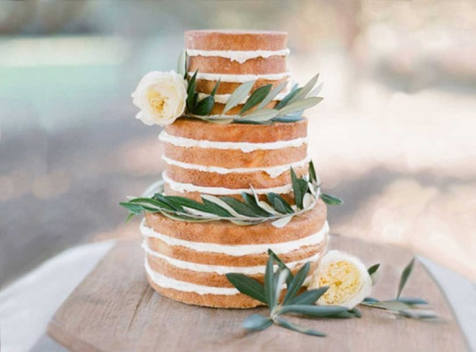 "<p> GET NAKED<p> <p> The concept of the naked cake is simple: strip away all the unnecessary fondant, icing and toppings to get the perfect mix of simple and rustic. Yes please.<p> <p> <a href=""http://jemmakeech.com/"">Jemma Keech Photography</a>."
