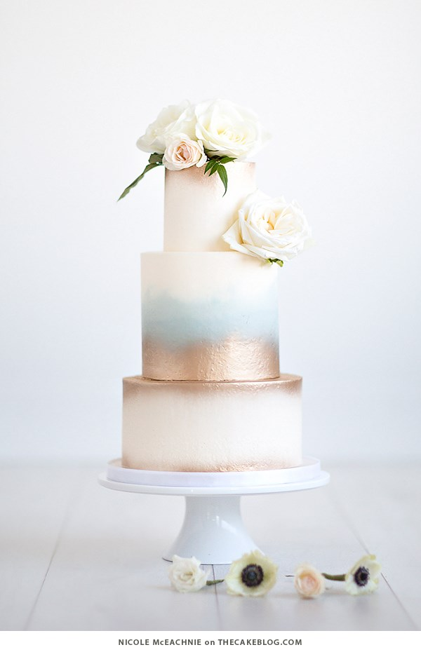 "<p> OMBRÉ<p> <p> Why pick one colour when you can pick two, with all the sweetest shades in between?<p> <p> <a href=""http://thecakeblog.com/"">The Cake Blog</a>."