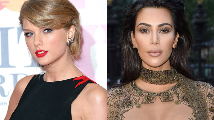 Taylor Swift and Kim Kardashian.