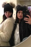 Kendall Kylie Jenner Winter Hat Hair Selfie