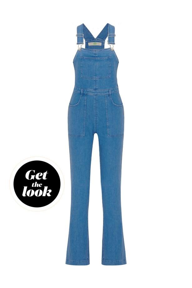 "Overalls, $970, <a href=""https://www.net-a-porter.com/au/en/product/645549/Stella_McCartney/stretch-denim-overalls"">Stella McCartney at net-a-porter.com</a>."