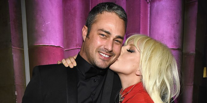 Lady Gaga and Taylor Kinney.