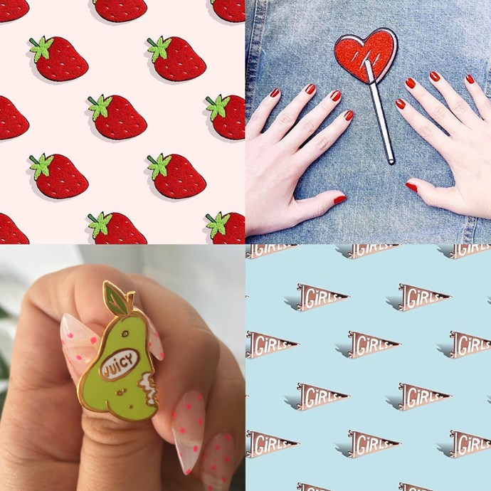 "<P> <a href=""https://www.instagram.com/tuesdaybassen/"">TUESDAY BASSEN</a><P> <P> LA illustrator Tuesday Bassen's sweet patches and pins have fans all over the world, including in <a href=""http://www.elle.com.au/news/fashion-news/2016/7/zara-accused-of-copying-artists-work/"">Zara</a>."