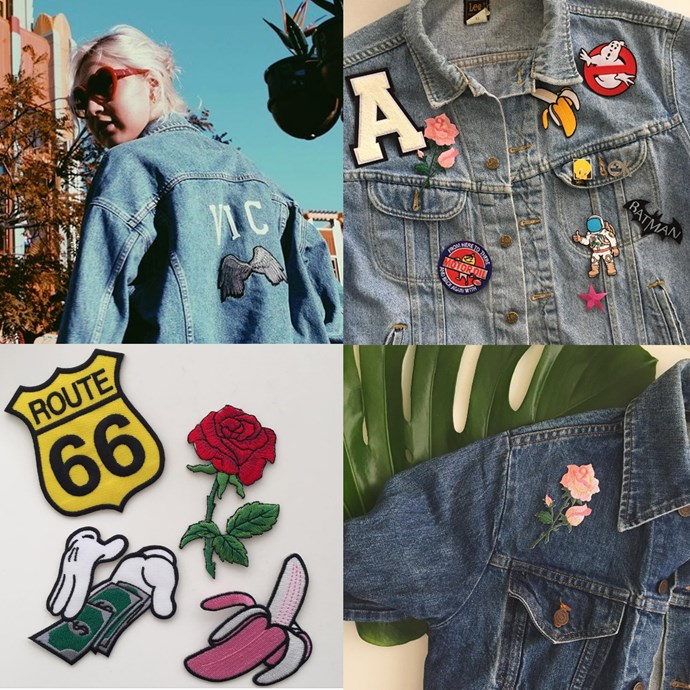 "<P> <a href=""https://www.instagram.com/shop_odessarae/"">ODESSA RAE</a><p> <p> Odessa Rae don't only sell pins and patches, the team on their website also offer custom jackets, which they will emblazon your name, initials and patch-choices on."