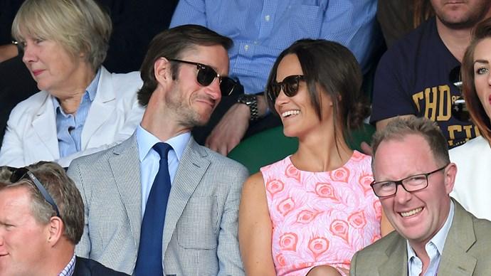 Pippa Middleton and James Matthews.