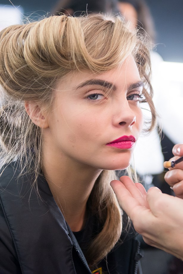 """<p> Fill In Your Brows Like A Pro<p> <p> """"Perfectly arched, symmetrical brows can be mastered by filling in the gaps using brush like strokes. This makeup trick is the ultimate tool to enhance your everyday beauty look,"""" says Tobi."""