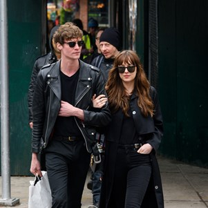 Dakota Johnson and Matthew Hitt.