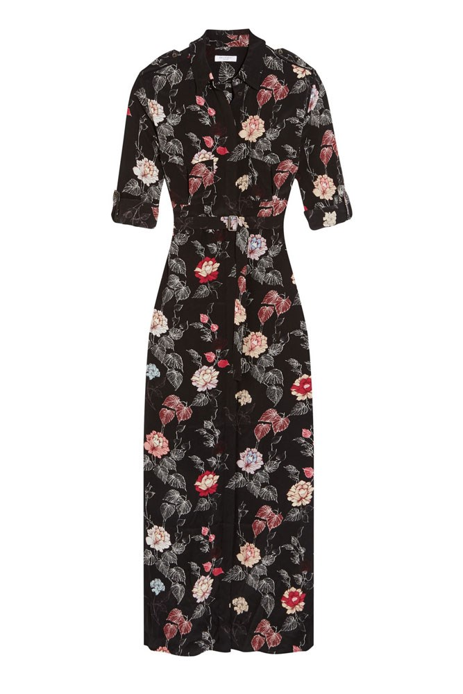 "<a href=""https://www.net-a-porter.com/au/en/product/740771/Equipment/major-printed-washed-silk-maxi-dress"">Dress, $766, Equipment at net-a-porter.com</a>"