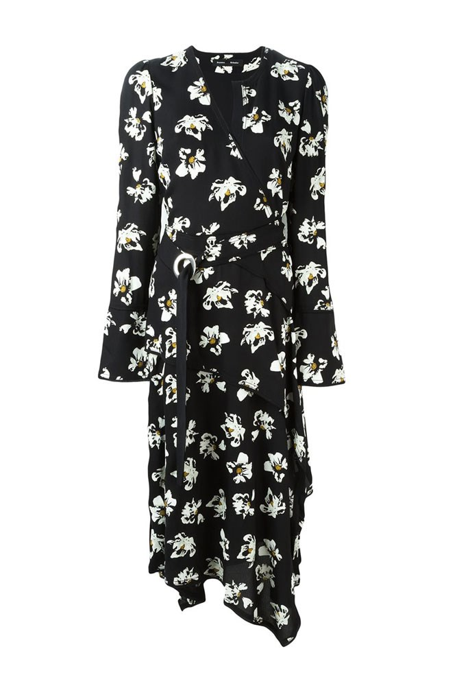 "<a href=""http://www.farfetch.com/au/shopping/women/Proenza-Schouler-flower-print-wrap-dress-item-11546321.aspx"">Dress, $2444, Proenza Schouler at farfetch.com</a>"