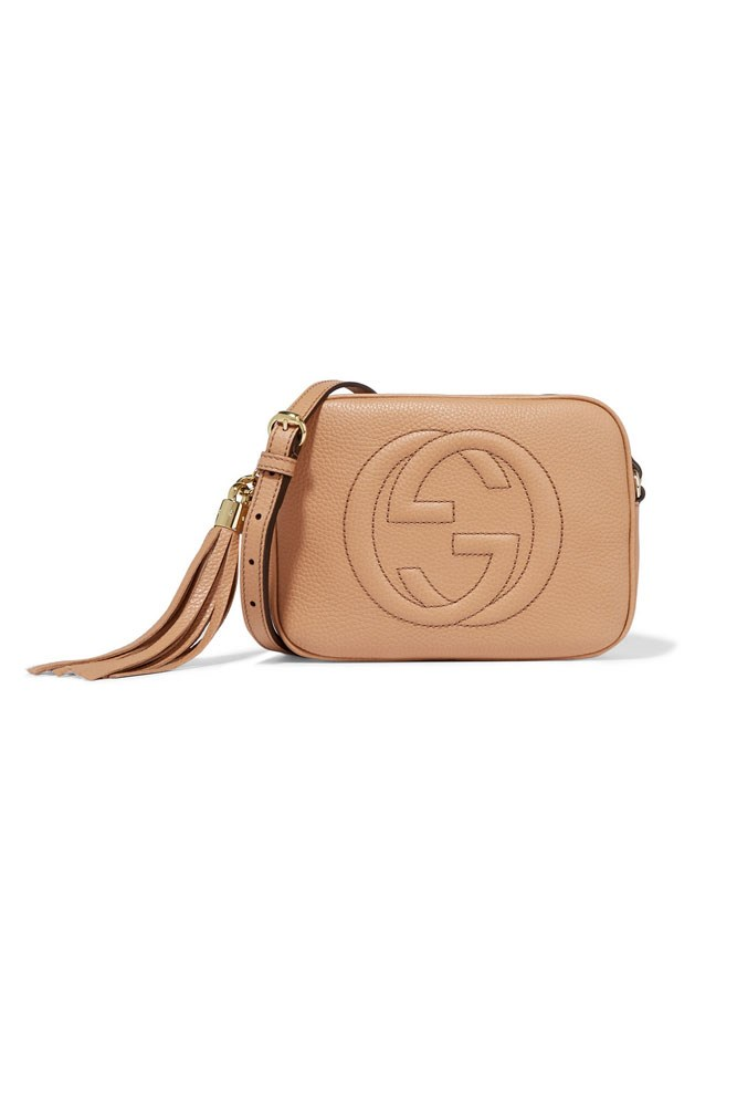 "<a href=""https://www.net-a-porter.com/au/en/product/713190/Gucci/soho-textured-leather-shoulder-bag"">Bag, $1365, Gucci at net-a-porter.com</a>"